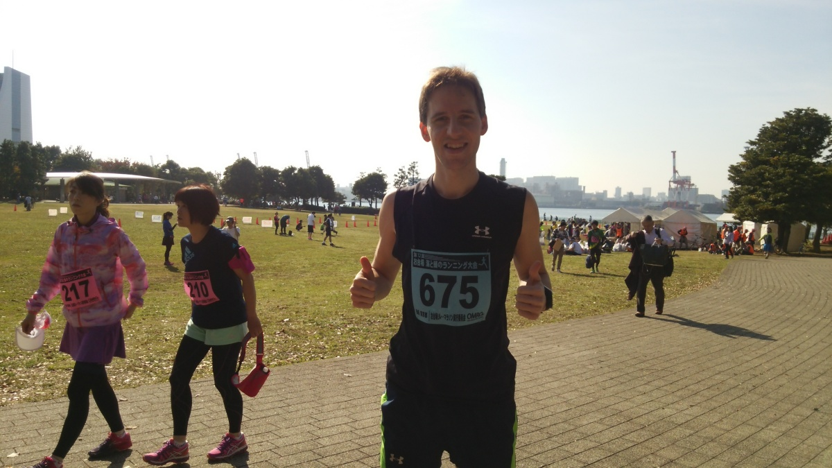 RACE REPORT: 12TH ODAIBA SEA & GREEN RUNNING RACE